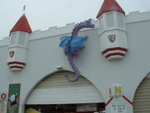 HUGE Dragon by Wayne Seddon