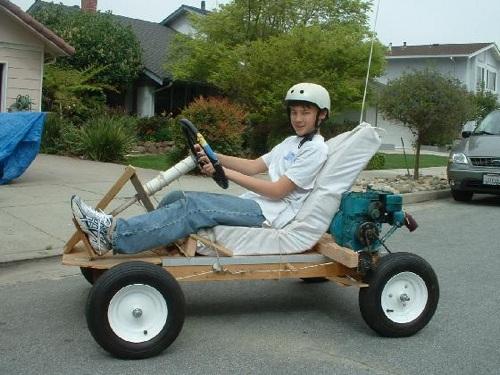 DIY Go Kart Building 202 PDF Download wood plans picture